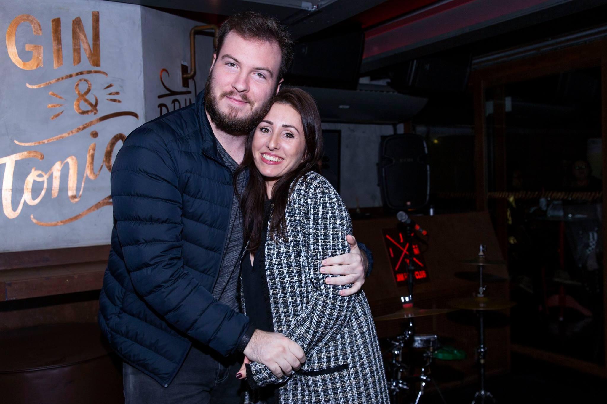 Thiago Nigro e Camila Ferreira