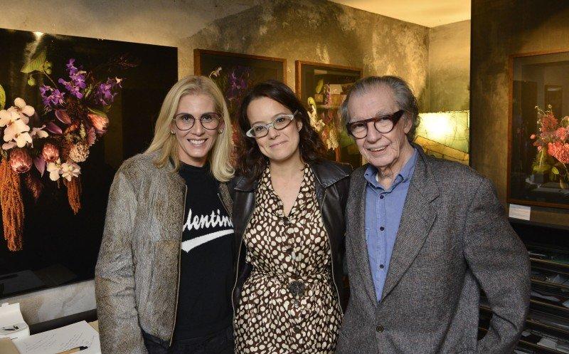 Lúcia Milan e Drica Lobo recebem convidados na Expo Flora Particular