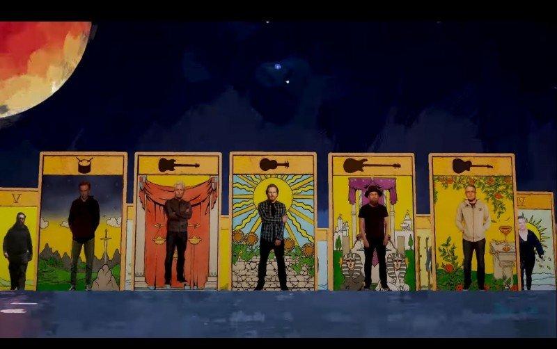 """Pearl Jam alerta sobre causas ambientais na animação de """"Retrograde"""""""