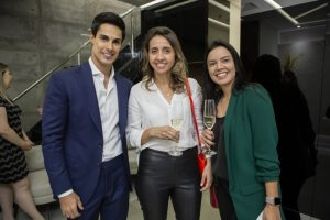 Dr. Rafael Pessanha, Karina Zanfelite e Cristiana Lima