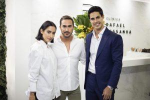Francesca Monfrinatti, Gui Haji e Dr. Rafael Pessanha