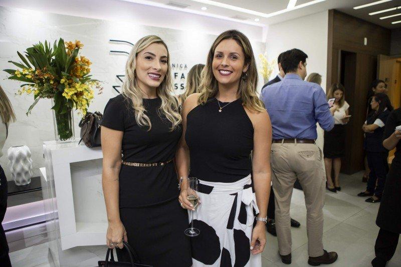 Mari Pedroso e Patricia Vasconcellos