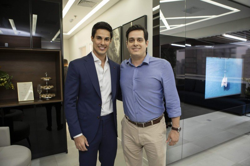 Dr. Rafael Pessanha e Armando Ralio