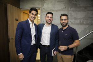 Dr. Rafael Pessanha, Rafael Brancatelli e Gustavo Patricio