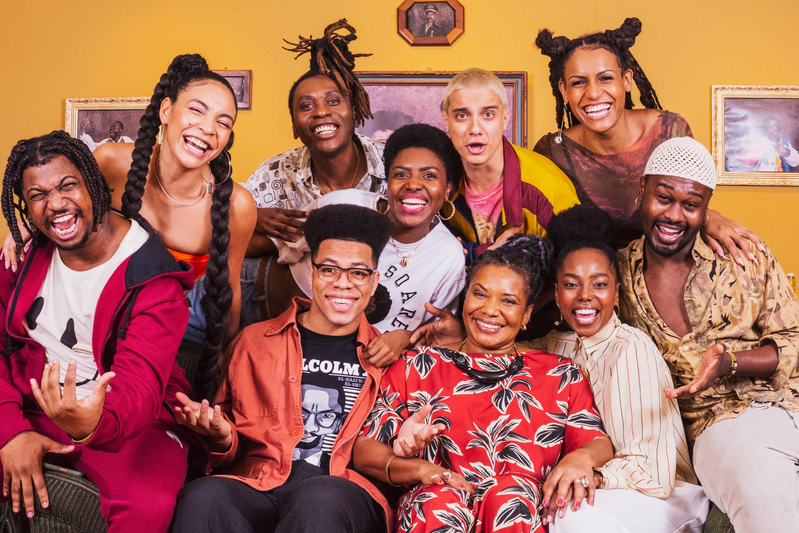 """Série """"Casa da Vó"""" visa cultura negra no país e traz Margareth Menezes no elenco"""