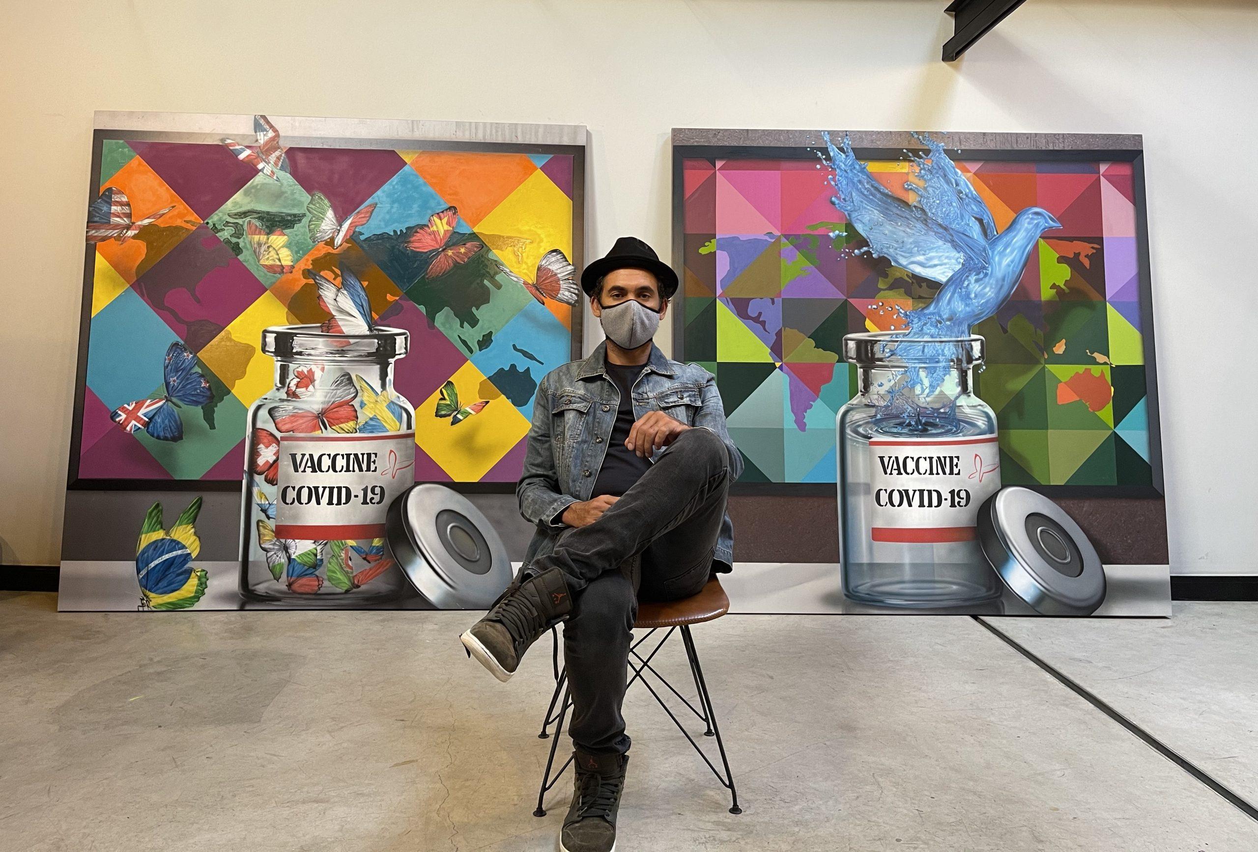Eduardo Kobra – A sensibilidade humanitária através do grafite