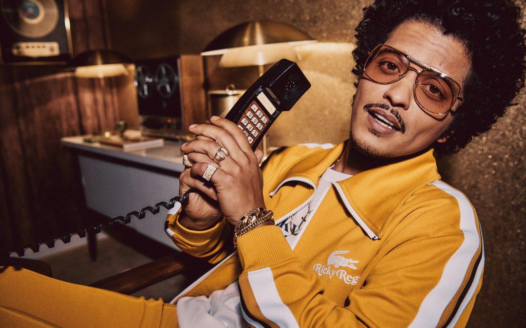 Bruno Mars lança primeira coleção de lifestyle com a Lacoste
