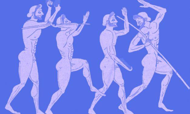 NA FALTA DE UM TRAJE APROPRIADO PARA OS JOGOS OLÍMPICOS DA ERA ANTIGA, OS GREGOS PREFERIAM NÃO USAR NADA